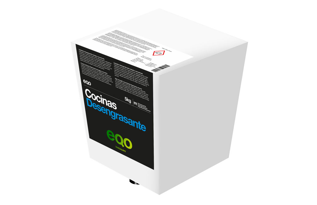 eqo Desengrasante, High-strength concentrated degreasing cleaner