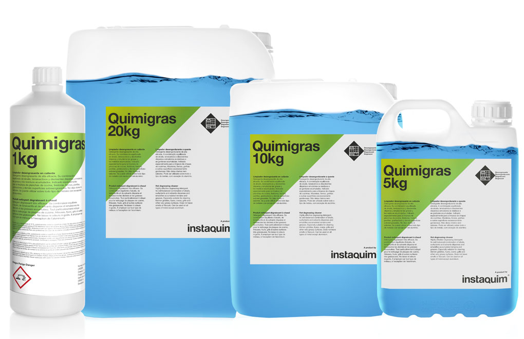 Quimigras, Produit nettoyant dégraissant