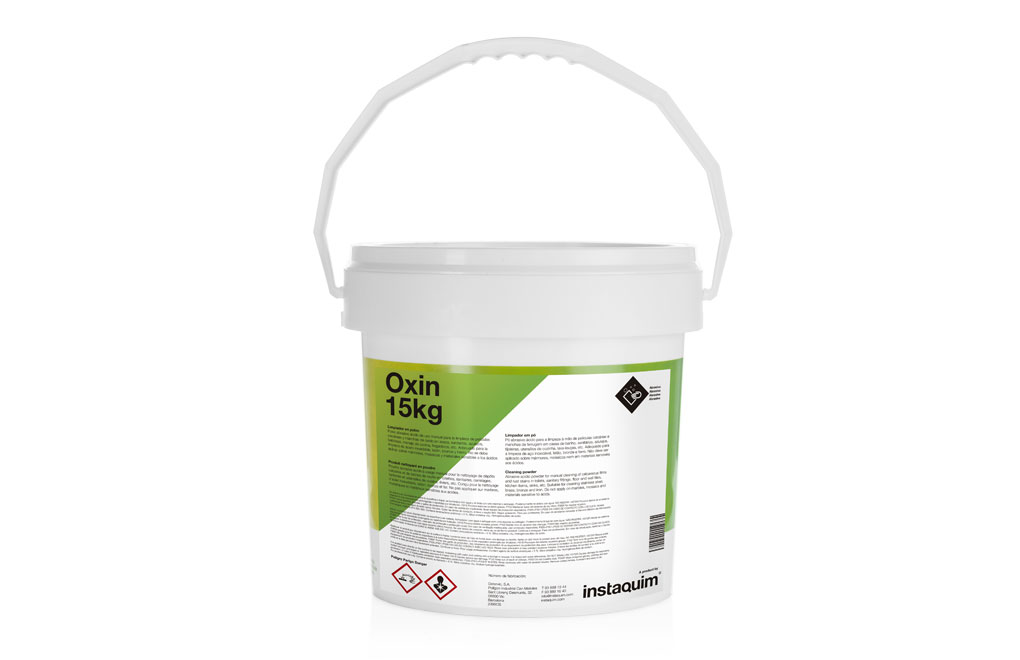 Oxin, Limpiador en polvo