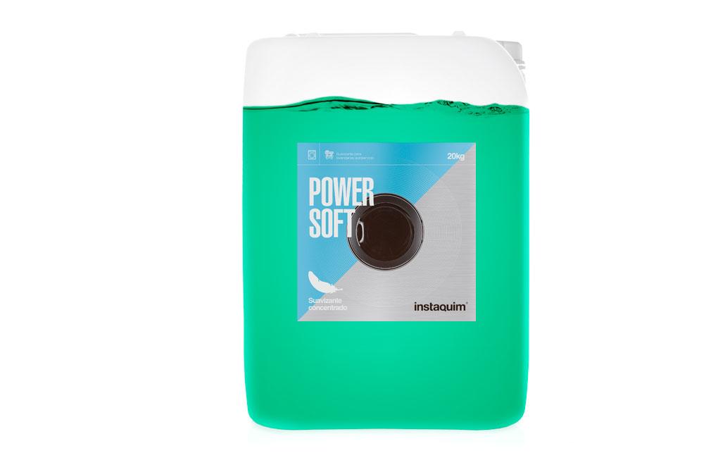Power Soft, Suavizante concentrado para lavanderías autoservicio